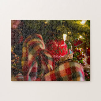 Tiefe eines Weihnachtsbaums Puzzle