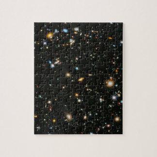 Tiefe Feld-Galaxien der NASAs Hubble ultra Puzzle