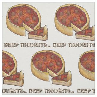 Tiefe Gedanken-tiefer Stoff