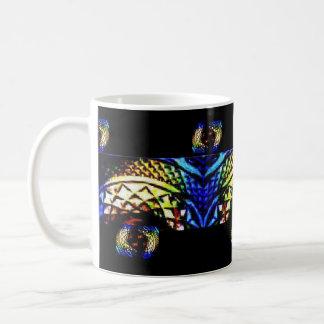 Tiefe reiche Juwelen Glas Kaffeetasse