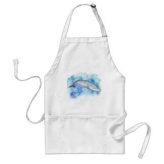 Tiefer Blauwal Schürze