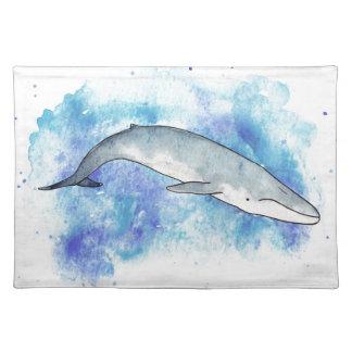 Tiefer Blauwal Tischset
