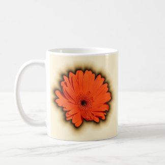Tiefer Gerbera Kaffeetasse