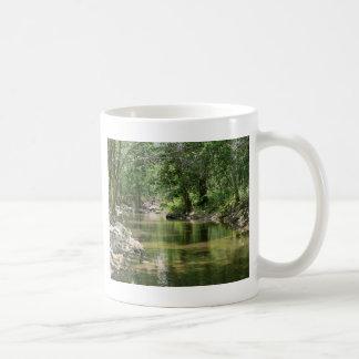 Tiefer Holz-Nebenfluss Kaffeetasse