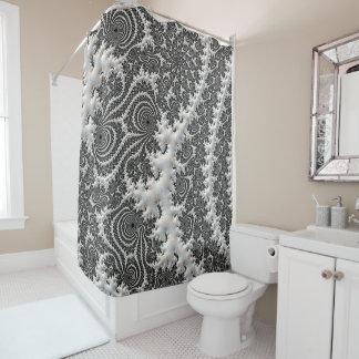 Tiefer Stromkreis-Duschvorhang-Badezimmer-Entwurf Duschvorhang
