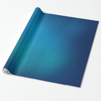 Tiefes blaues Unterwasserglühen Geschenkpapier