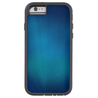 Tiefes blaues Unterwasserglühen Tough Xtreme iPhone 6 Hülle