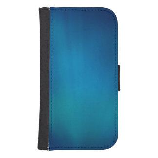 Tiefes blaues Unterwasserglühen Phone Geldbeutel