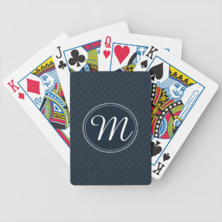 Tiefes klassisches Marine-kundenspezifisches Pokerkarten