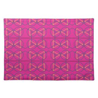 Tiefes pink1 tischset