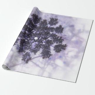 Tiefpurpurne Fliedern Geschenkpapier