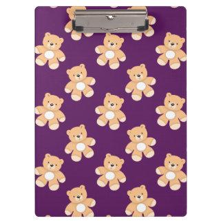 Tiefpurpurner Teddybär, Bären