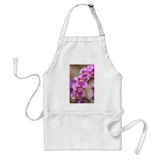 Tiefrosa Phalaenopsis-Orchideen-Blumen-Kette Schürze