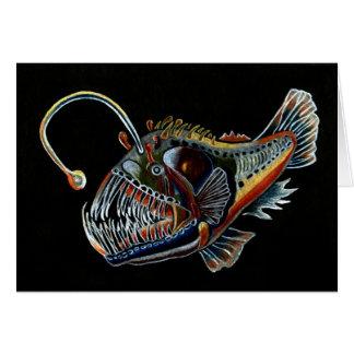 Tiefsee-Angler-Fische alle occations Karte