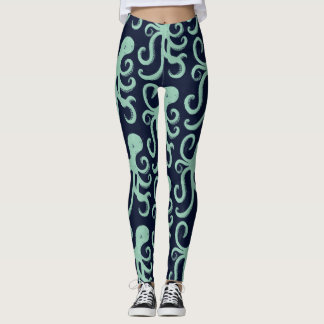 Tiefsee-Krake Leggings