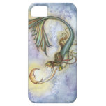 Tiefsee-Mond-Meerjungfrau-Fantasie-Kunst iPhone 5 Schutzhülle Fürs iPhone 5