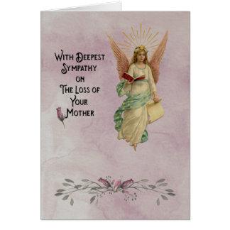 Tiefstes Beileid auf dem Verlust Ihrer Mutter Karte
