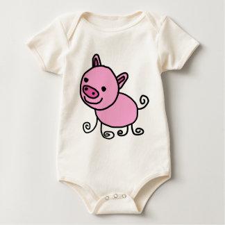 Tier Baby Strampler