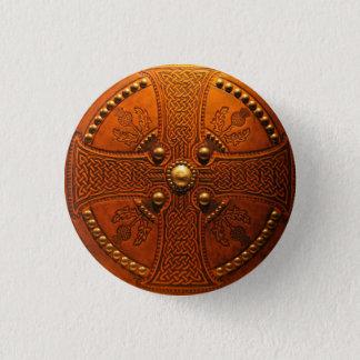 Tier der Hochländer Runder Button 3,2 Cm