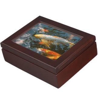 Tier - Fisch - schenken Sie Glück Erinnerungsdose