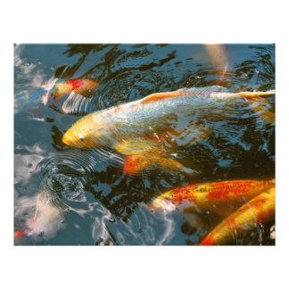 Tier - Fisch - schenken Sie Glück Flyer