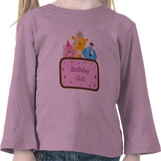 Tier-Geburtstags-Mädchen kundengerecht