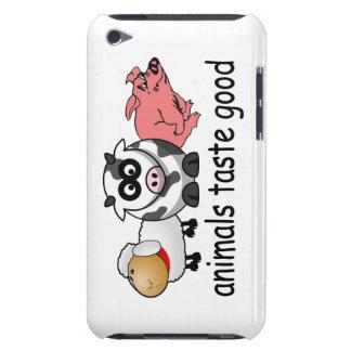 Tier-Geschmack gut - lustiger Fleisch-Esser-Entwur iPod Case-Mate Case