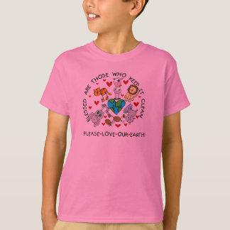 Tier-Liebe unsere Erde T-Shirt