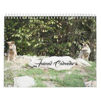 Tier Pets des Tier-Liebe-Schicksals-Schicksals Wandkalender