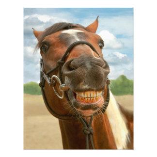 Tier - Pferd - ich erhielt schließlich meine Flyerdesign