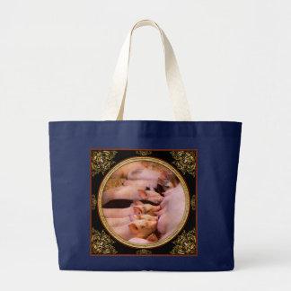 Tier - Schwein - Komfortnahrung Jumbo Stoffbeutel