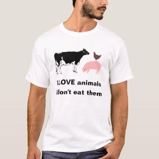 Tier-T - Shirt der Liebe I