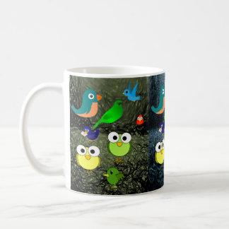 Tier-Vogel-Tassen Kaffeetasse