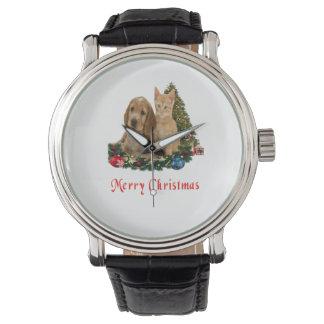 Tier-Weihnachtsgeschenke Armbanduhr