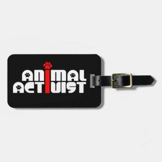 Tieraktivist Gepäck Anhänger