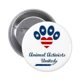 Tieraktivisten-Knopf Runder Button 5,7 Cm