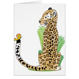 Tieralphabet Jaguar Karte