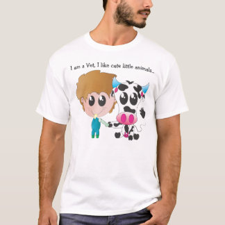 Tierarzt nach innen T-Shirt