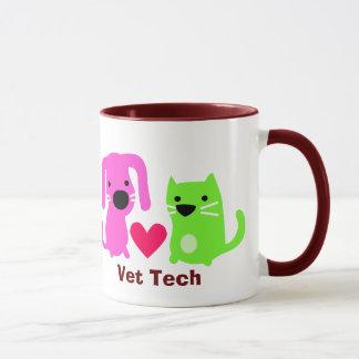 Tierarzt-Technologie-Hund u. Katze Tasse