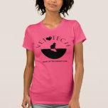 Tierarzt-Technologie-T-Stück Rosa Shirt