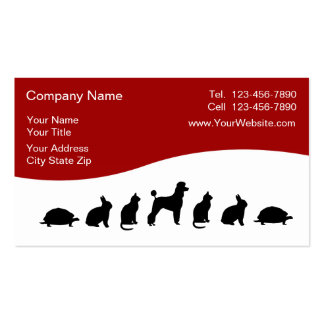 Tierärztliche Visitenkarten