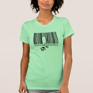 Tierbefreiungs-Mädchen-Shirt T Shirt