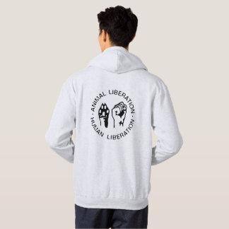 Tierbefreiungs-Sweatshirt Hoodie