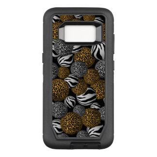 Tierdruck-Bälle OtterBox Defender Samsung Galaxy S8 Hülle