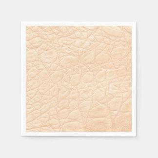 Tierdruck-Beschaffenheit im Rosa! Klassisch + Papierservietten
