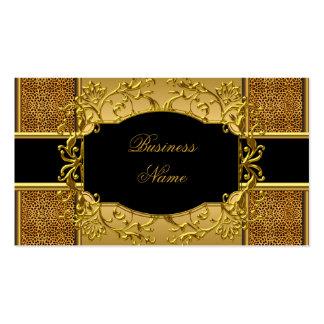 Tierdruck des eleganten noblen visitenkarten