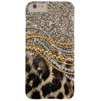 Tierdruck des schönen trendy Leopard-Imitats Barely There iPhone 6 Plus Hülle