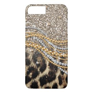 Tierdruck des schönen trendy Leopard-Imitats iPhone 7 Plus Hülle