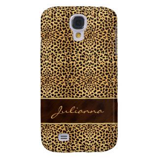 Tierdruck-Gepard in den natürlichen Farben Galaxy S4 Hülle