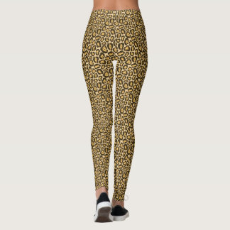 Tierdruck-Muster Browns Jaguar Leggings